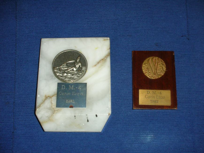 1981/82, Trofeos patrullas esqui y escalada