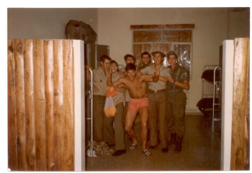El mismo día, (por  los gayumbos del Ibiza):Merchán, Jose de Valencia, Llopis de Barna, Ibiza,Quintana de Asturias,Gracia de Barna también y Morató de Mallorca de cuartelero.