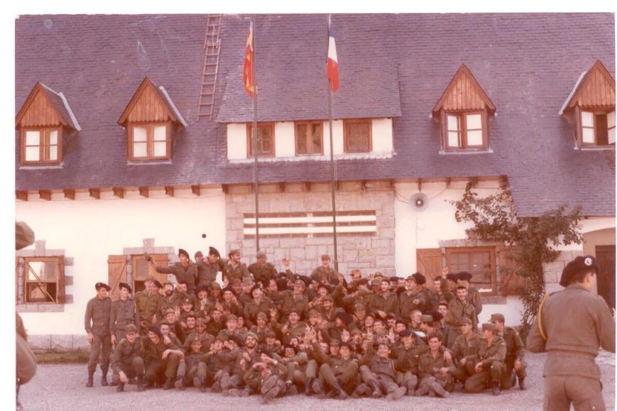 Con los Alpinos 1985