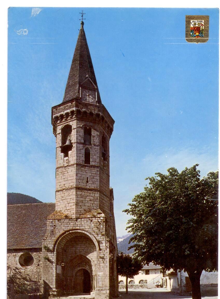 Y la iglesia de Viella.